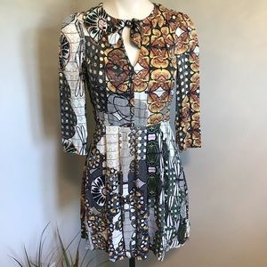& Other Stories Abstract Mini Dress